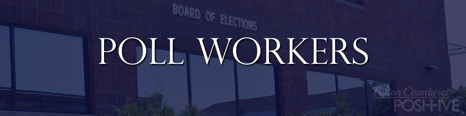 Poll Workers Header